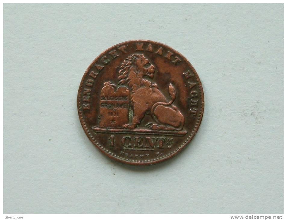 1899 VL - 1 CENT ( Morin 229 ) Zie Foto´s Voor Détail ! - 1865-1909: Leopold II