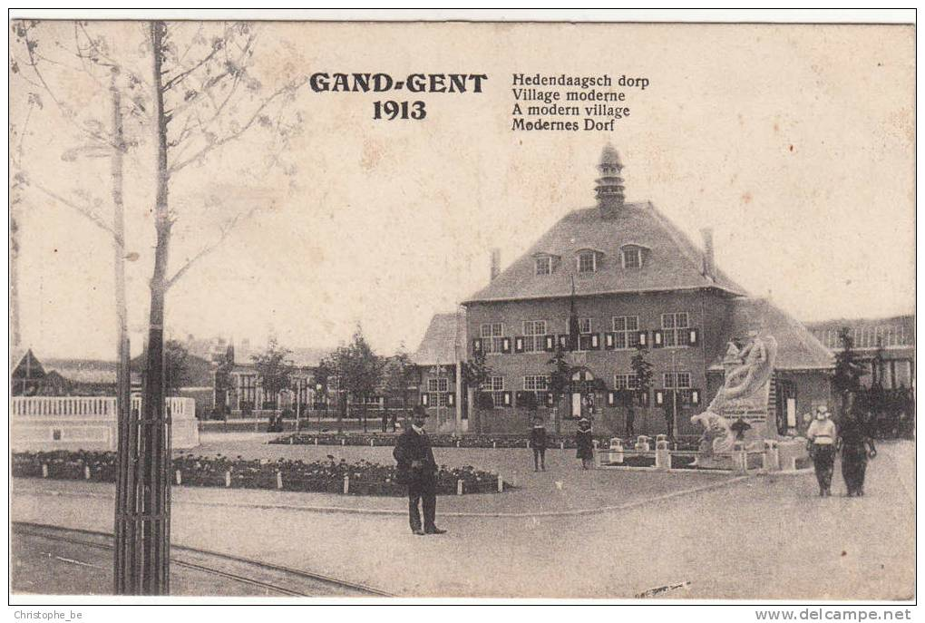Gent, Gand, 1913 Hedendaags Dorp (pk11352) - Gent