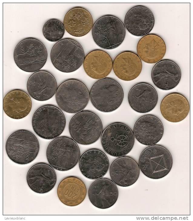 Lot De Monnaie En Vrac /ITALIE/28 Piéces/20 éme Siécle      BIL16 - Kilowaar - Munten