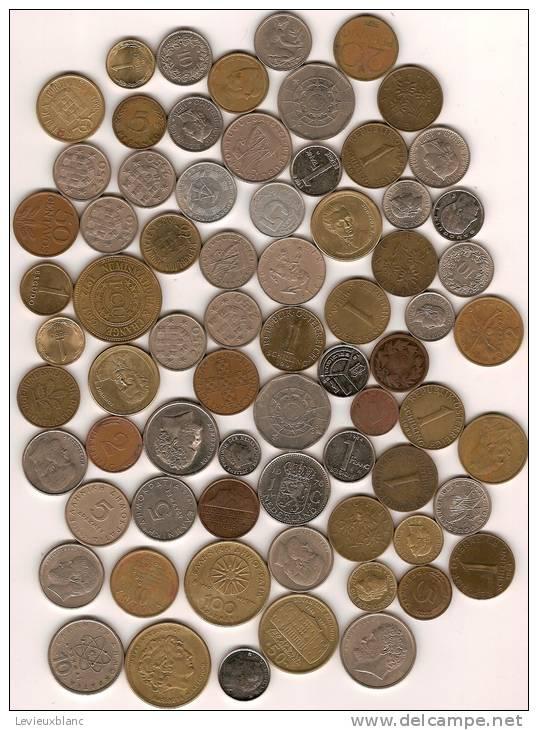 Lot De Monnaie En Vrac/Gréce-Allemagne-Belg Ique-Hollande-suisse-Port Ugal/71 Piéces/20 éme Siécle      BIL19 - Kilowaar - Munten