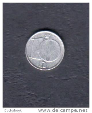 CZECHOSLOVAKIA   10 HALERU  1977 (KM # 80) - Czechoslovakia