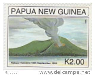 Papua New Guinea 1995 Rabaul Volcano   MNH Set - Papua New Guinea
