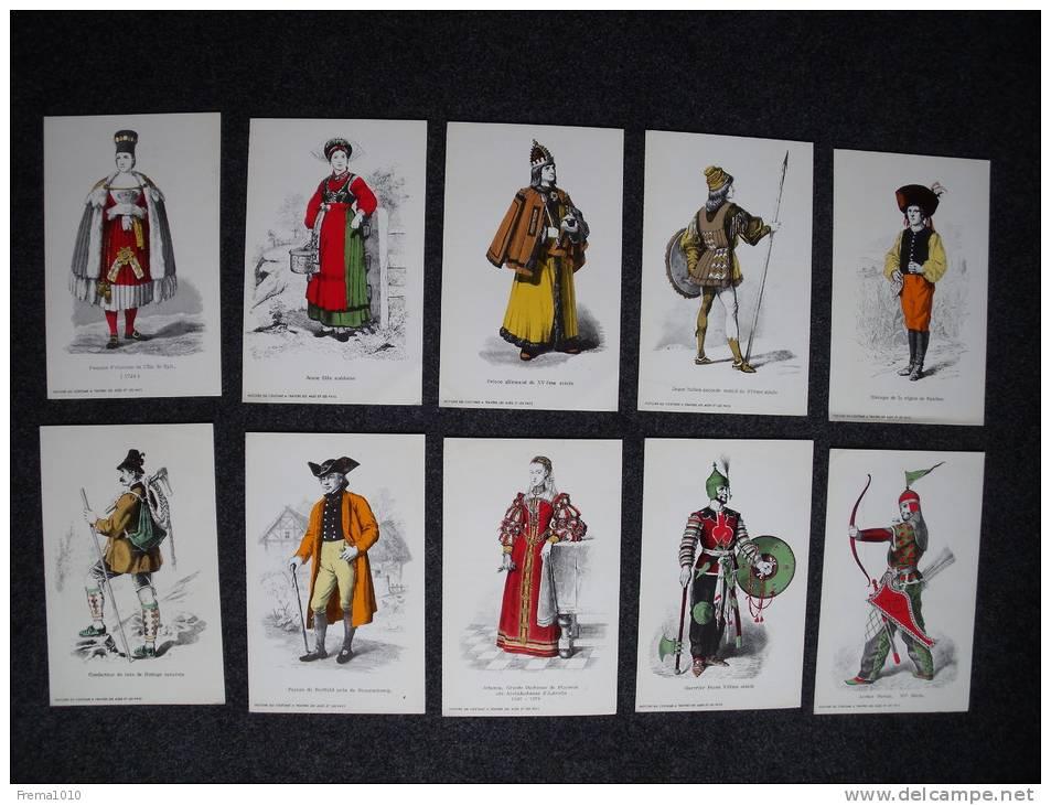 MODE Histoire Du Costume A Travers Las Ages Et Les Pays: 10 Publicités Médicales Années 60 Double-page UNILABO - Publicités