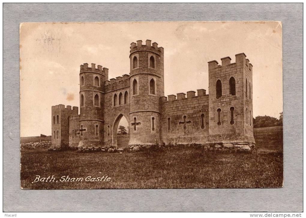 30032     Regno  Unito,  Bath,  Sham   Castle,  VG  1929 - Bath