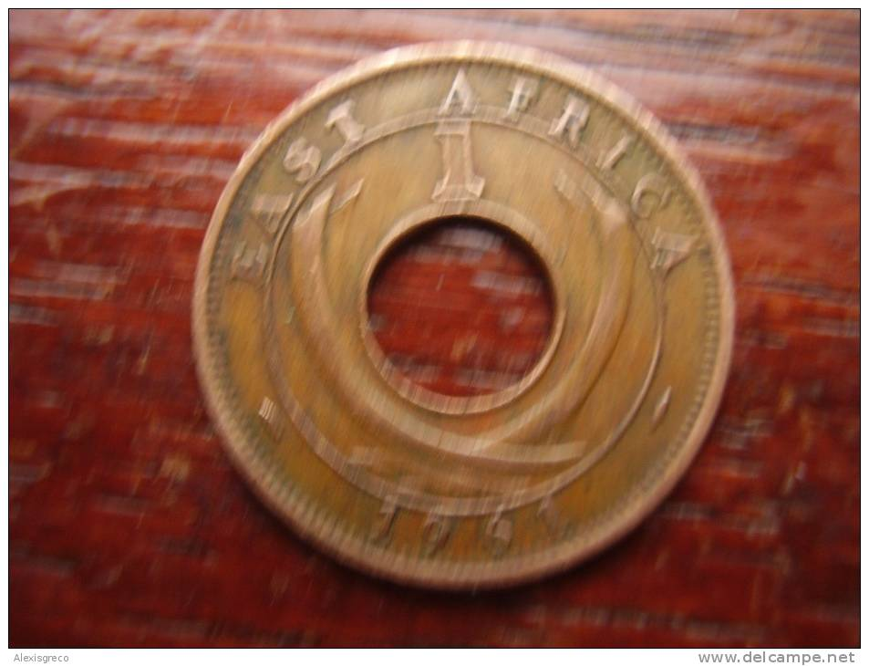 BRITISH EAST AFRICA USED ONE CENT COIN BRONZE Of 1961 H. - East Africa & Uganda Protectorates