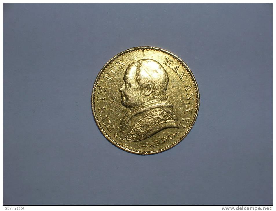 Vaticano 20 Liras 1866 A XXI (10116) - Vatican