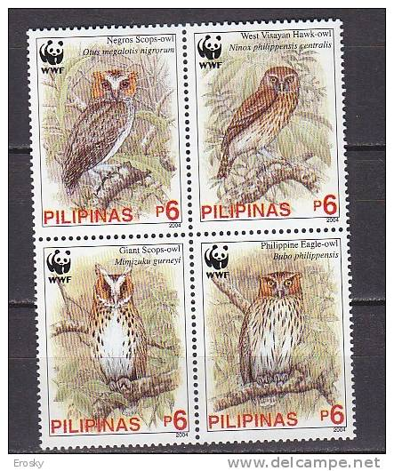 PGL AD123 - PHILIPPINES Yv N°2932/35 ** ANIMAUX ANIMALS - Filippine