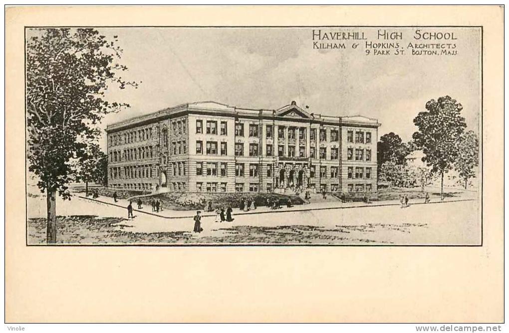 Royaume Uni  : Réf : H-12-1005 : Heverhill High School - Non Classés