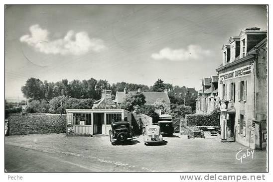 N°21402 -cpsm Blainville Sur Mer -Hôtel Restaurant Duprey- - Autres Communes