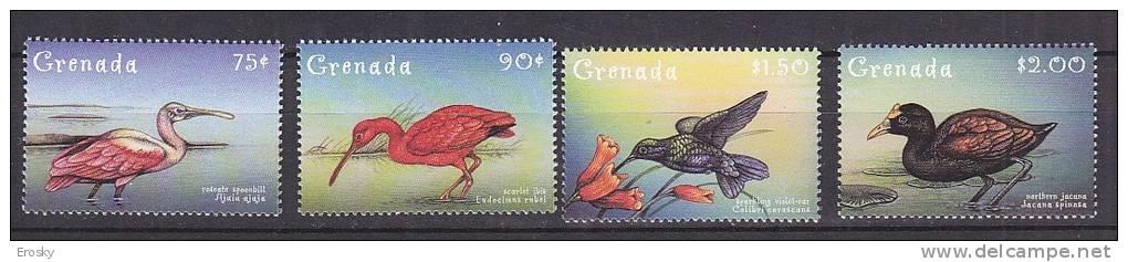 PGL AD161 - GRENADA Yv N°3544/47 ** ANIMAUX ANIMALS - Grenada (1974-...)