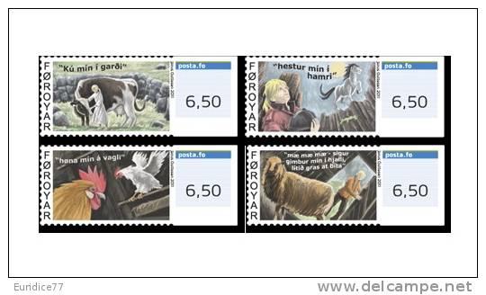 Faroe 2011 - Franking Labels Stamp Set Mnh - ATM - Frama (labels)