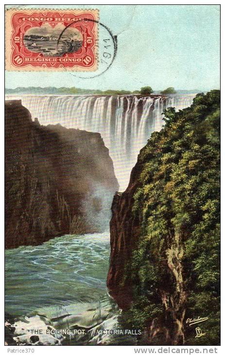 Victoria Falls Chute D´eau