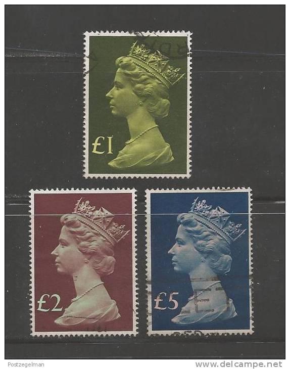 UK 1977 Used Stamp(s) QE II  3 Higher Values Only Nrs. 732-734 - 1952-.... (Elizabeth II)