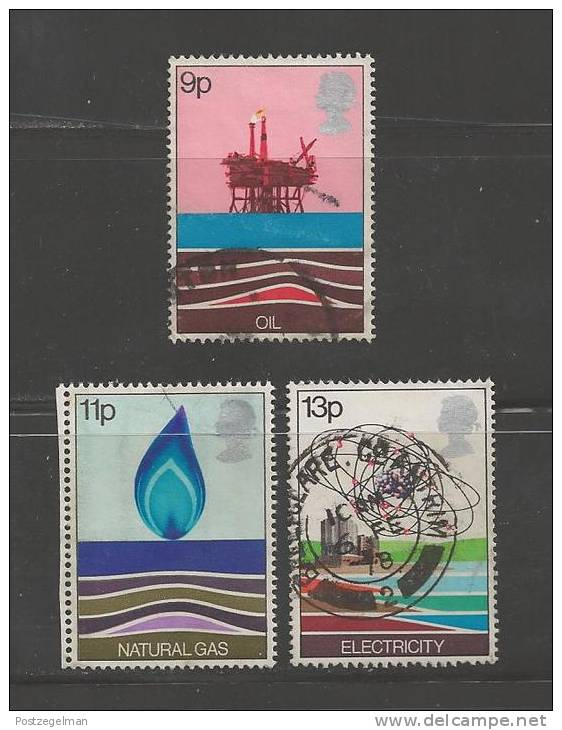 UK 1978 Used Stamp(s) Energy Resources Nrs. 756=759 (3 Values Only) - 1952-.... (Elizabeth II)