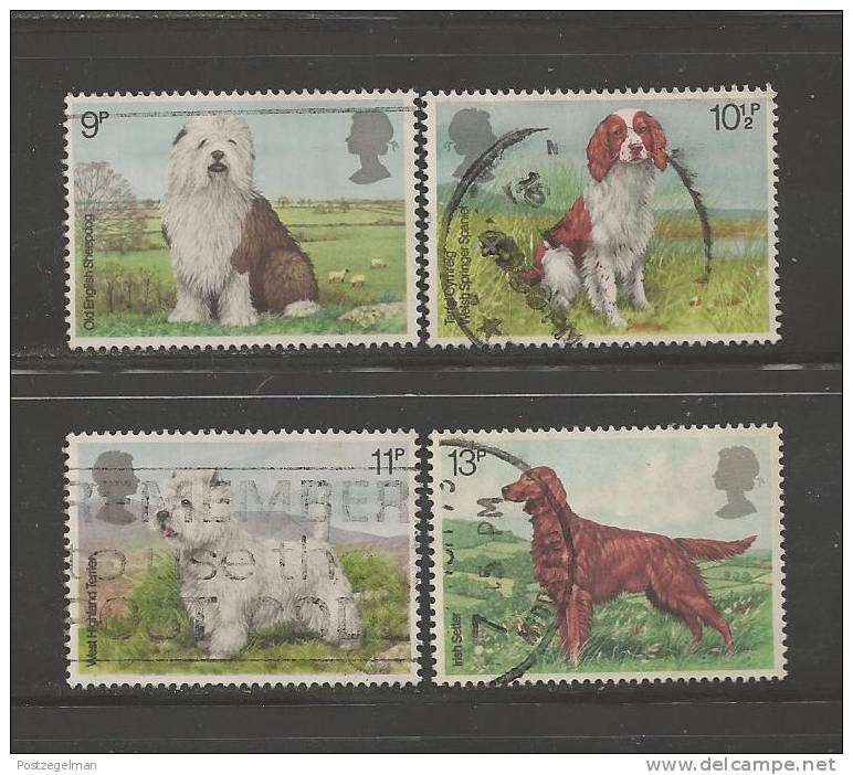 UK 1979 Used Stamp(s) Dogs Nrs. 781-784 - 1952-.... (Elizabeth II)