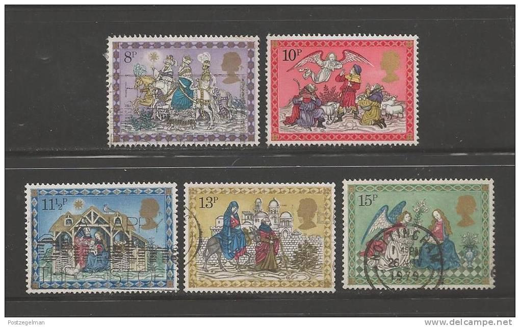 UK 1979 Used Stamp(s) Christmas Nrs. 812-816 - 1952-.... (Elizabeth II)