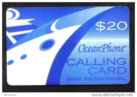 OCEAN PHONE - SHIP PERSONAL - (  $ 20  ) - Unclassified
