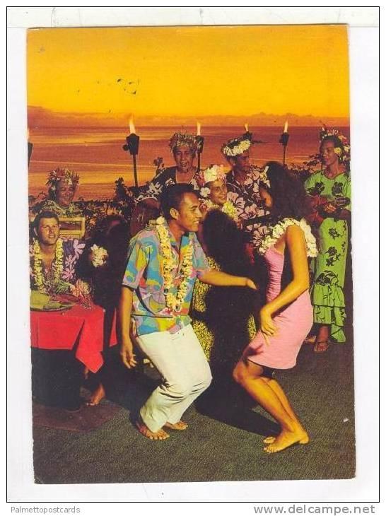 Hotel TAHAKAA, Tahiti, FrenchPolynesia, 50-60s