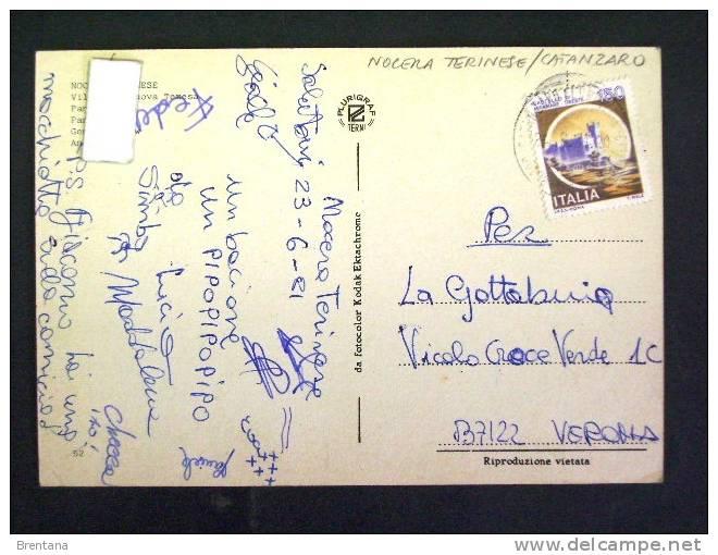CALABRIA -CATANZARO -NOCERA TERINESE - F.G. LOTTO N°186 - Catanzaro