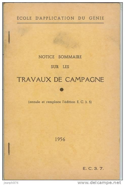 école D´application Du Génie  Travaux De Campagne - Livres, Revues & Catalogues