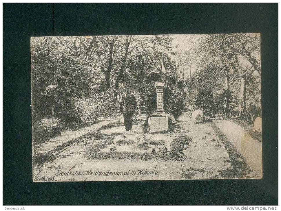 AK - Allemagne - Russie - Deutsches Heldendenkmal In Kiburty ( Feldpost EYDTKUHNEN  Kahan & Co) - Roumanie