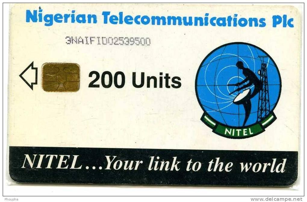 Carte NITEL : 200 Unités - Nigeria
