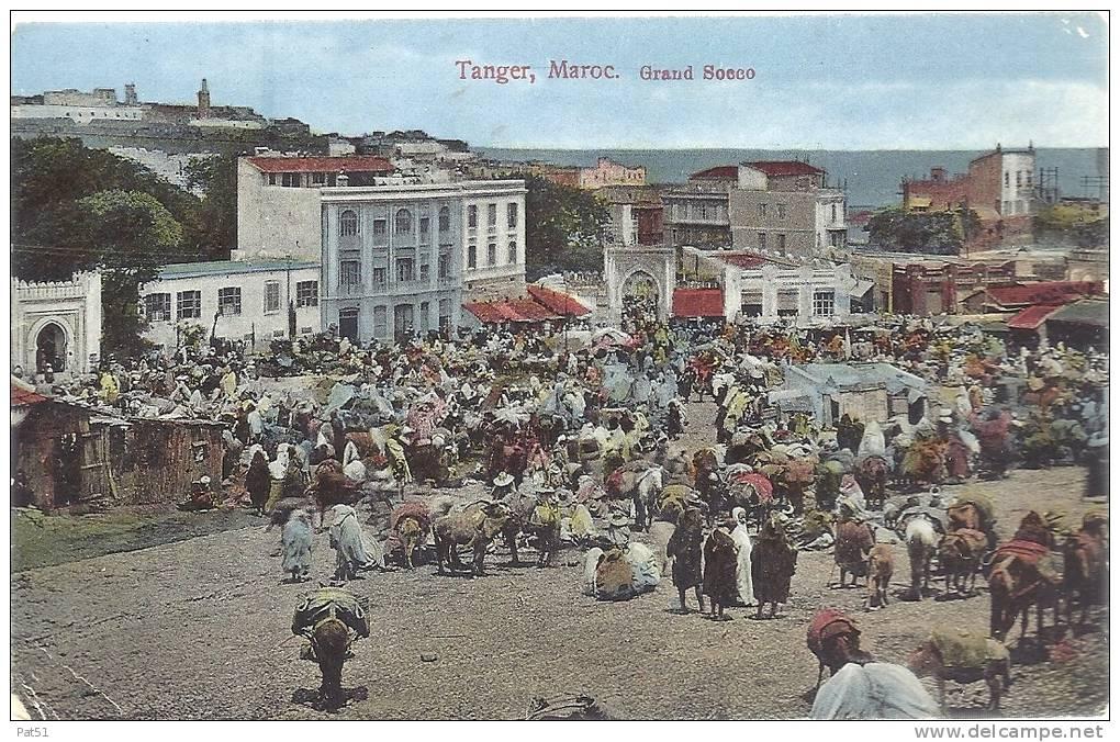 MAROC  - Tanger : Grand Socco - Tanger