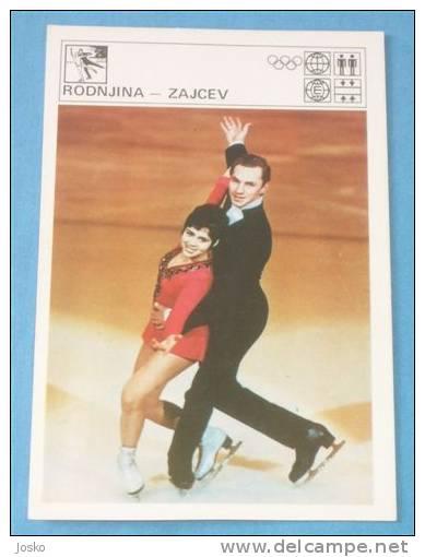 RODNINA & ZAJCEV Figure Skating - Yugoslav Vintage Svijet Sporta * Patinage Artistique Eiskunstlauf Patinaje Pattinaggio - Skating (Figure)