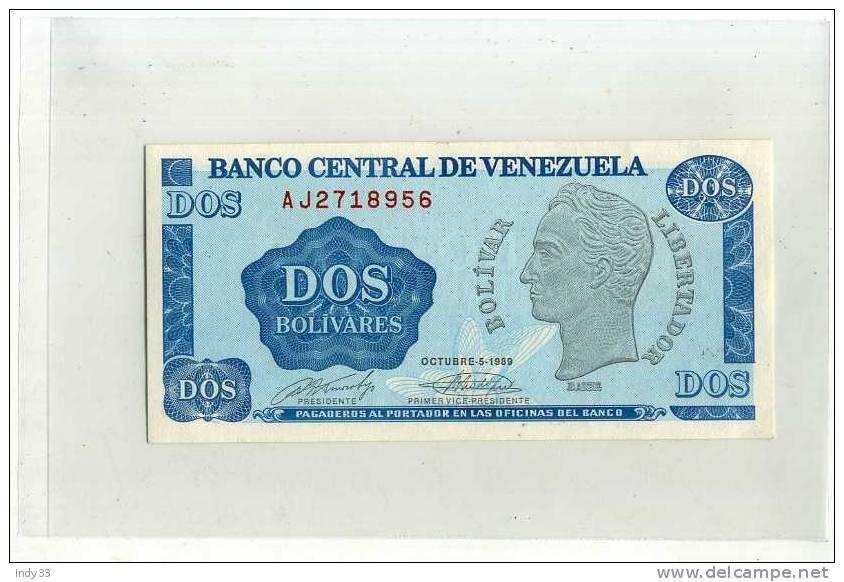 - VENEZUELA . 2 B. 1989 . - Venezuela