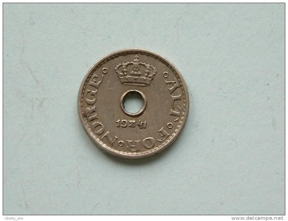 1941 - 10 ORE / KM 383 ( For Grade , Please See Photo ) ! - Norvège