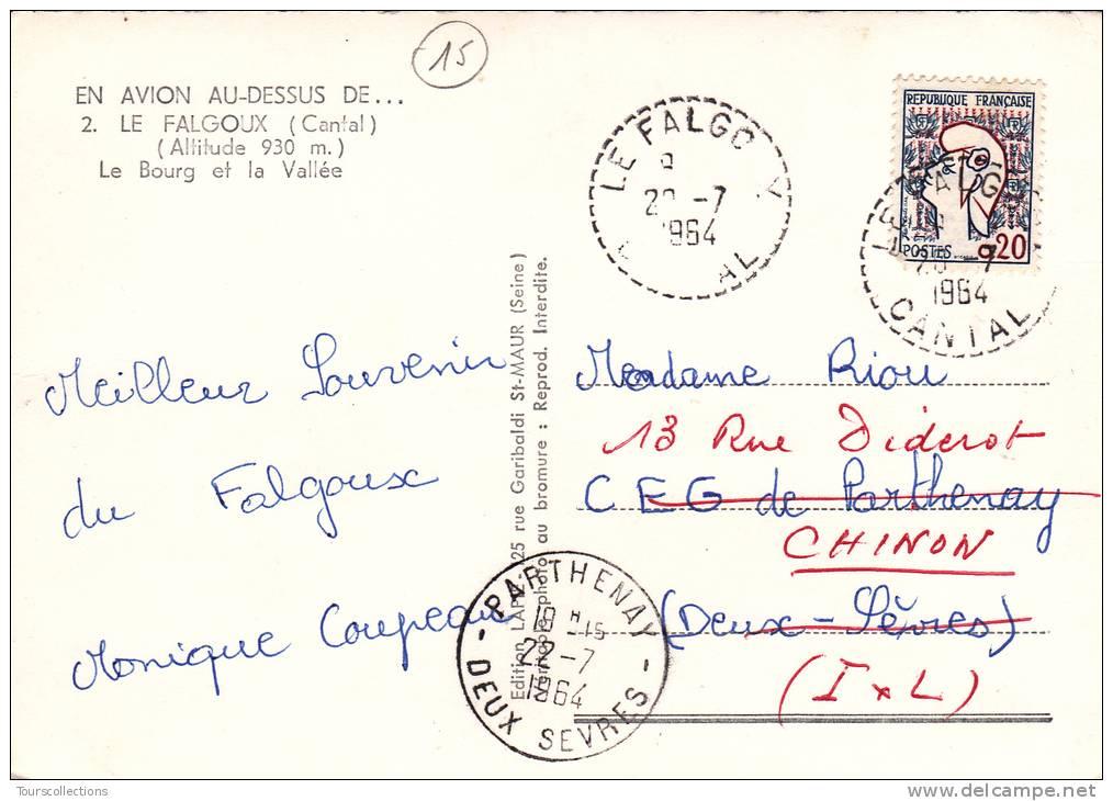 CPSM 15 @ LE FALGOUX @ Le Bourg Et La Vallée En 1964 @ - Autres Communes