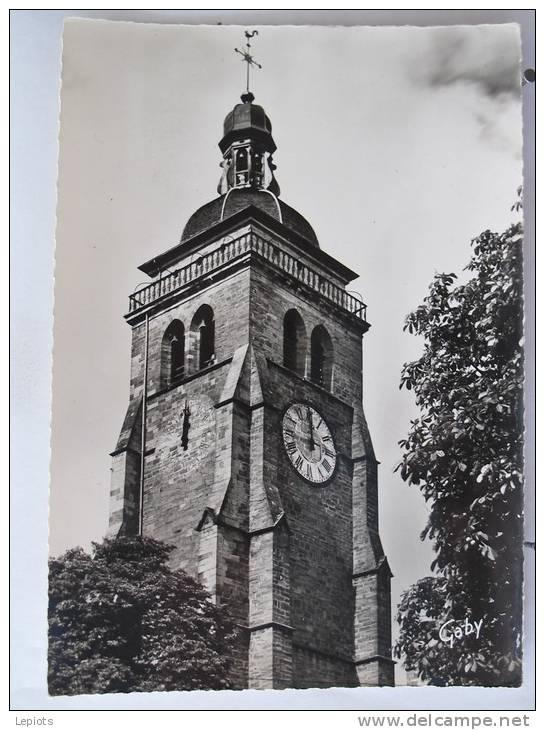 Carte Très Peu Courante - 39 - Arbois - Le Clocher De L' Eglise Saint Just - Scan Recto-verso - Arbois
