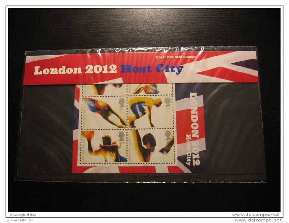 2005 London Olympics 2012 Winning Bid Presentation Pack M11 UM / MNH Cat £12.00 - Presentation Packs
