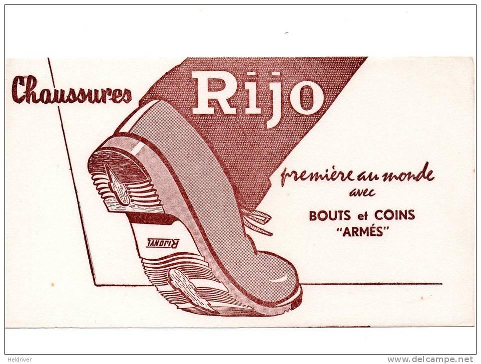 (041) Buvard Chaussures RIJO Bouts Et Coins Armés - M
