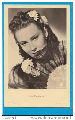 LIDA BAAROVA Original Vintage Photo-postcard Ross Verlag A 1984/2 - Postcards