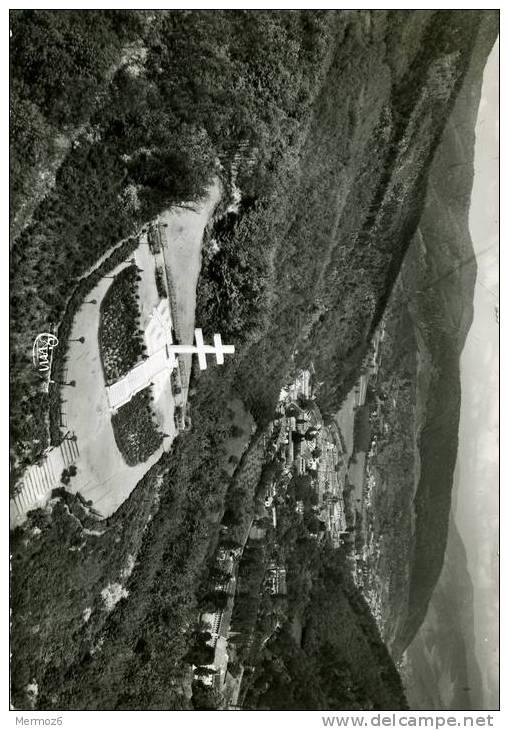 Thann Vue Aerienne Monument De La Resistance En Arriere Plan Bitschwiller Et La Vallee De Thur Combier Cim - Thann