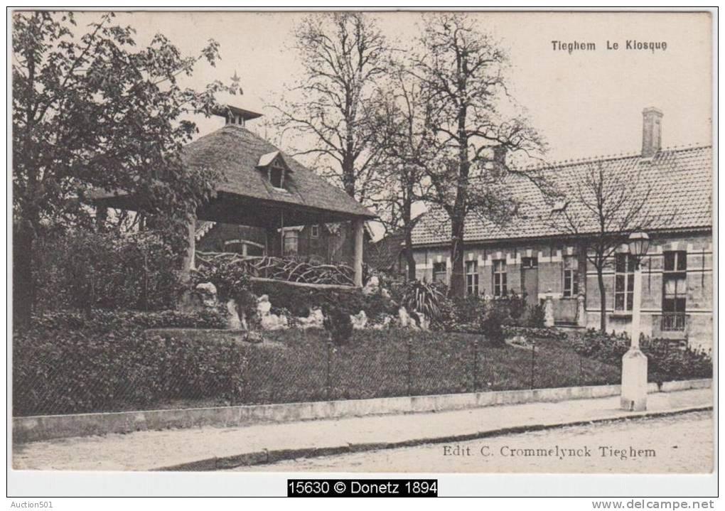 15630g KIOSQUE à Musique - Tieghem - 1913 - Anzegem
