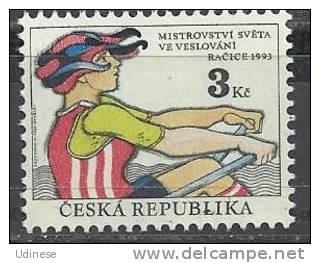 CZECH REPUBLIC 1993  - ROWING CHAMPIONSHIP - MNH MINT NEUF NUEVO - Czech Republic