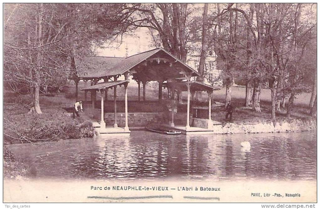78 - Neauphle-le-Vieux - Parc, L'Abri à Bateaux - Neauphle Le Chateau
