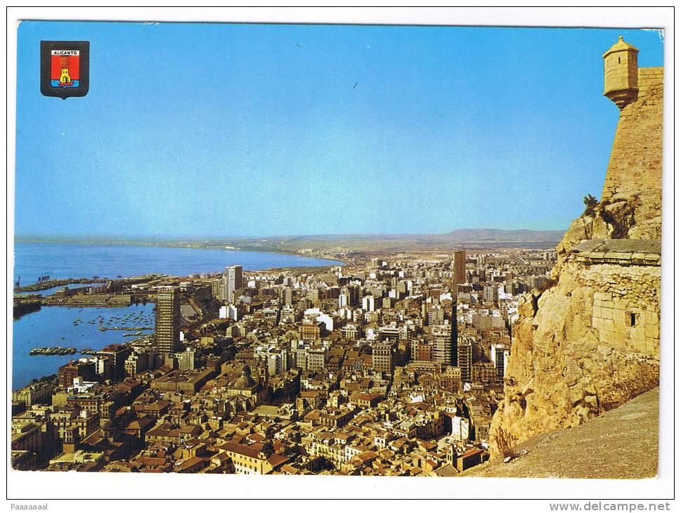 ALICANTE  VUE PARTIELLE - Alicante