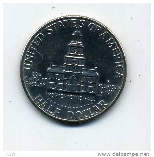 - U.S.A. . HALF DOLLAR KENNEDY 1976 - Federal Issues