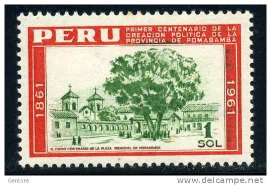 PERU 1962 Pomabamba   Yvert Cat.  N° 457  Absolutely Perfect MNH ** - Peru