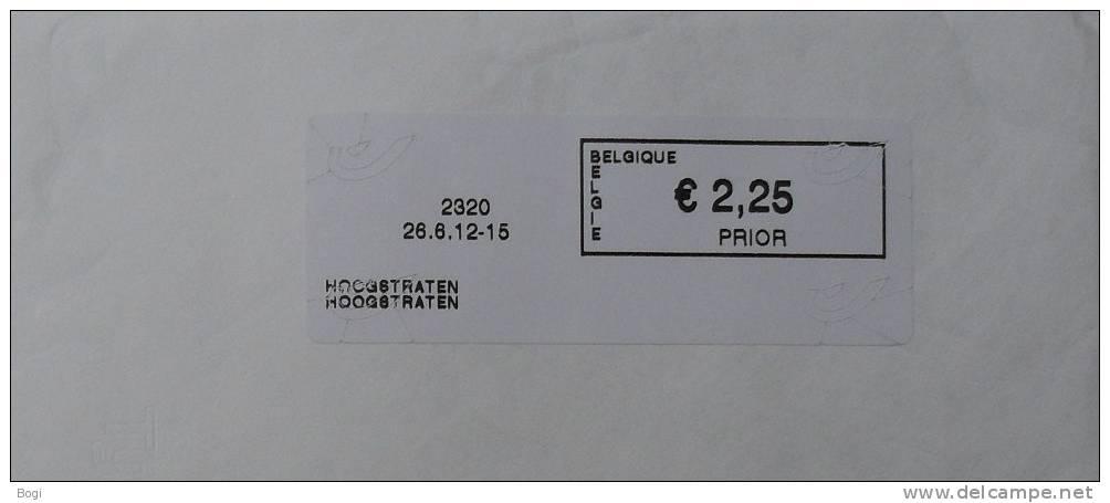 België 2012 Hoogstraten 2320 (fragment 114 X 228 Mm) -  Nieuw Logo Bpost - Vignette