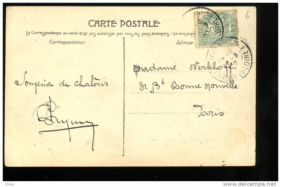 Saône Et Loire Chalon Sur Saône 23 Le Parisien Remontant La Genise Galeries Modernes - Chalon Sur Saone