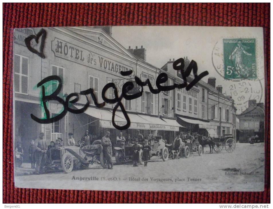 ANGERVILLE ESSONNE HOTEL DES VOYAGEURS PLACE TESSIER - Angerville