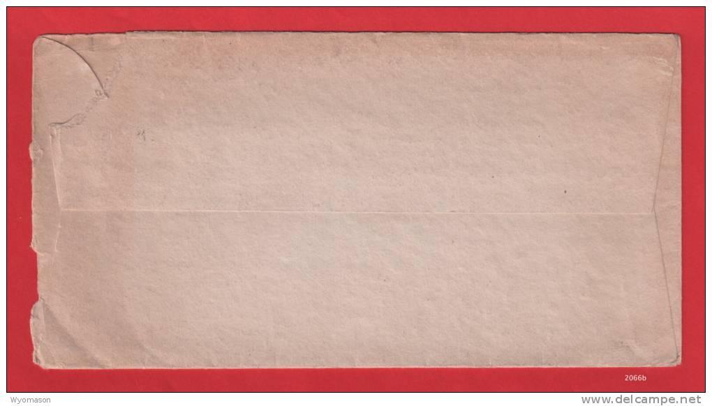 1928 Envelope - Slogan Cancel - Scott #634 [#2066] - Postal History
