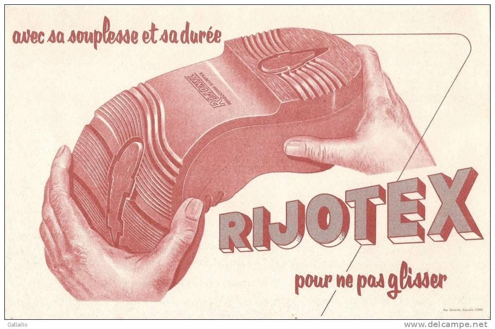 RIJOTEX AVEC SA SOUPLESSE ET SA DUREE  POUR NE PAS GLISSER - Chaussures