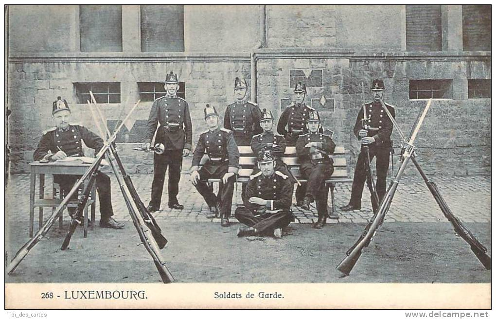 Luxembourg - Soldats De Garde - Luxembourg - Ville
