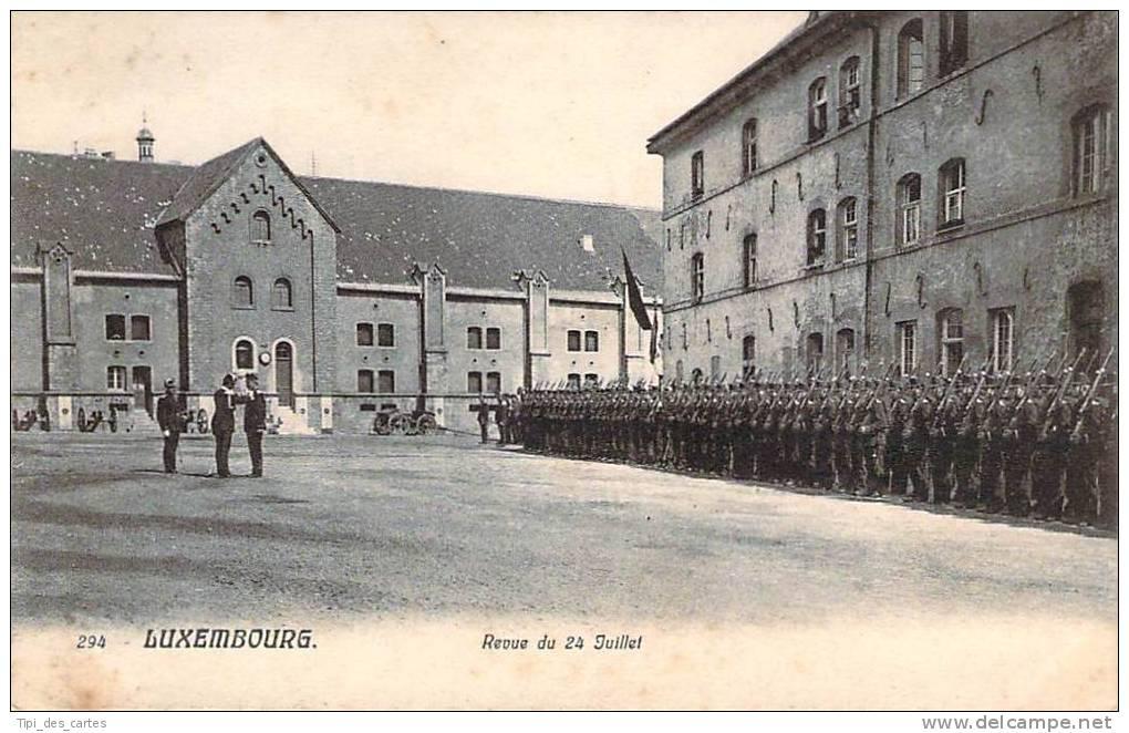 Luxembourg - Revue Du 24 Juillet - Luxembourg - Ville