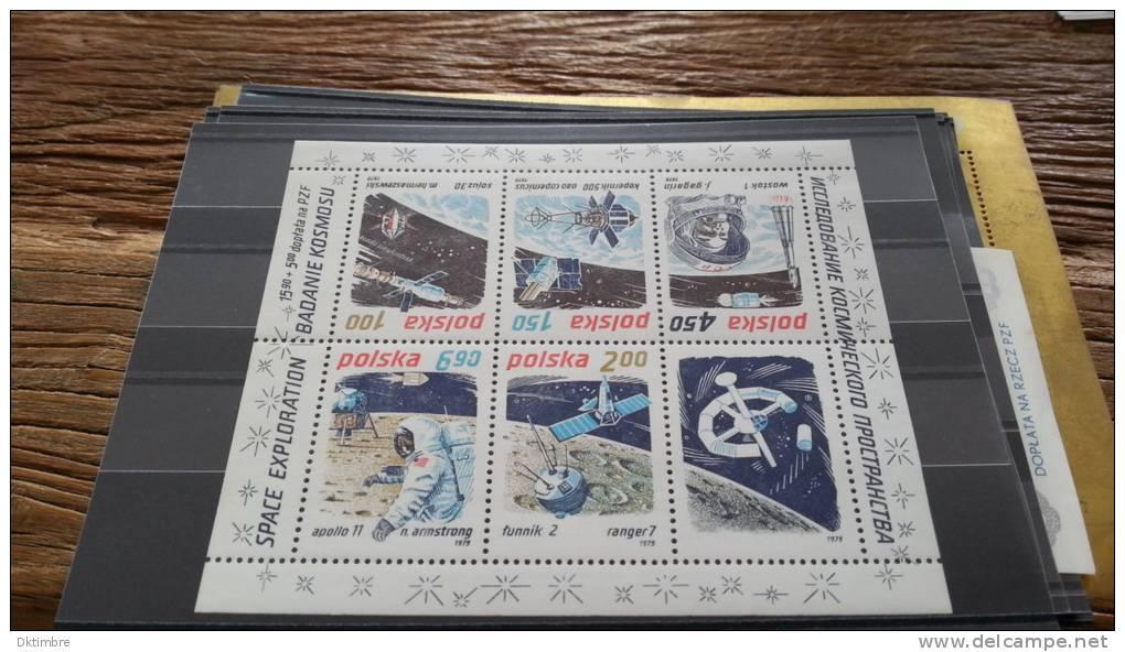 LOT 105818 TIMBRE DE POLOGNE NEUF** - Blocks & Sheetlets & Panes